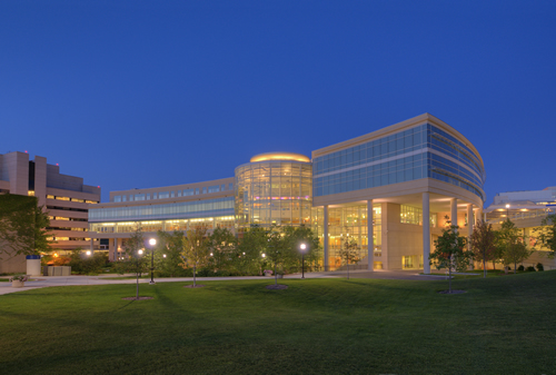 Cardiovascular Center at Night