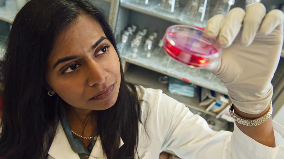 U-M researcher and Internal Medicine professor Santhi Ganesh, MD