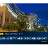 Front cover of U-M Frankel Cardiovascular Center Activity and Outcomes repport