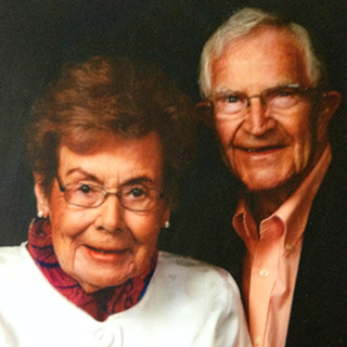 U-M TAVR patients Dorothea and Bernard Bach