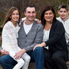 Loeys-Dietz syndrome patient Dr. Rosemary Batanjski and family