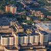 Cropped aerial view of U-M Health System